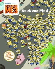 Despicable Me 3, Seek & Find Activity Book. Minions Children's Kids Novelty Gift