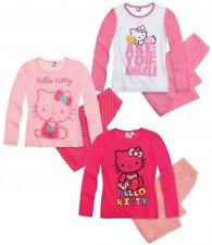 Hello Kitty Mädchen-Pyjamasets aus 100% Baumwolle