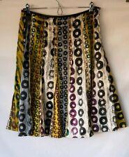 M&S Per Una Satin Flared Skirt Size UK 12R