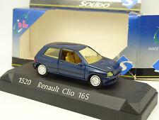 Solido 1/43 - Renault Clio 16S Bleue
