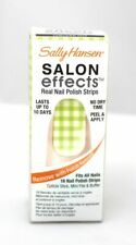 SALLY HANSEN SALON EFFECTS REAL NAIL POLISH STRIPS - CHECKER OUT - GINGHAM