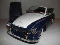 1:18 WARTBURG 311 Cabriolet REVELL Modellauto Blau Weiß Bicolor Diecast Model