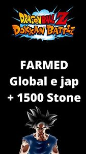 IOS & ANDROID Account dragonball Z dokkan battle global & jap