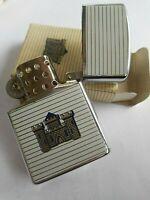 Vintage L.D.L. Cigarette Lighter Japan Castle W/ Original Box