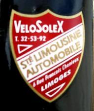 1  AUTOCOLLANT  CONCESSIONNAIRE VELOSOLEX  87-LIMOGES