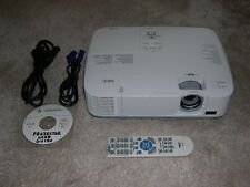 NEC NP-M260X HDMI Projector XGA Data/Computer/Video/HD/HDTV LCD - with NEW LAMP