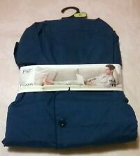 F&F Men's Pyjama Set ( Grandad Blue Colour) Size XL