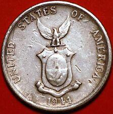 1944   Philippines . Twenty 20 Centavos .