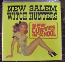 "NEW SALEM WITCH HUNTERS New Curves In School 7"" NEW Get Hip garage-rock"