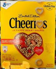 General Mills Cheerios Cereal 20.35 oz box Limited Edition ( 1 BOX )