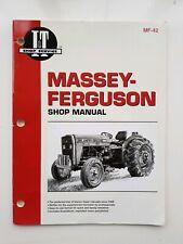 I & T MASSEY FERGUSON 230 235 240 245 250 TRACTOR REPAIR MANUAL