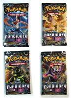 Pokemon TCG Sun & Moon Forbidden Light, 4 Loose Booster Pack New