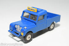 CORGI TOYS 416 LAND ROVER 109 WB BLUE EXCELLENT CONDITION REPAINT