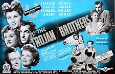 TROJAN BROTHERS 1945 Patricia Burke, David Farrar, Barbara Mullen TRADE ADVERT