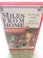 RICHARD GERE - MILES FROM HOME - 1988 RCA COLUMBIA BIG BOX EX RENTAL VHS PAL