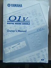 Yamaha O1V Owners Manual