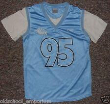 NIKE / Air MAX 95 - MENS blue (glanz) / white Sports Shirt. Size: S, 173