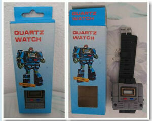 JOYA UNICA RELOJ NUEVO NEW QUARTZ WATCH ROBOT BOOTLEG TRANSFORMERS VINTAGE 80´S