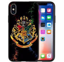 Harry Potter iphone 12 case Hogwarts black and multi colour