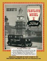 Henry's Fabulous Model A Ford Book ~ Restoration-Reference-Hints-Data ~ NEW!