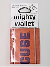 Dynomighty Syracuse Sport Bifold Thin MIGHTY WALLET Tyvek Free Shipping