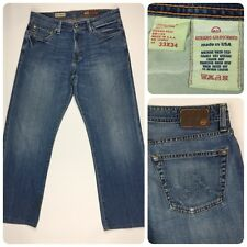 AG Adriano Goldschmied Mens The Hero Straight Jeans 33x34