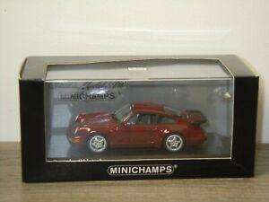 Porsche 911 964 Turbo 1990 - Minichamps 1:43 in Box *48825