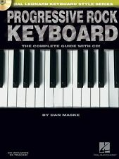 Progressive Rock Keyboard Piano Complete Guide Book Cd New! Out Of Print!