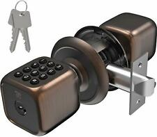 Turbolock TL-111 digital con Cerradura de puerta Teclado perilla estilo para entrada sin llave Bronce