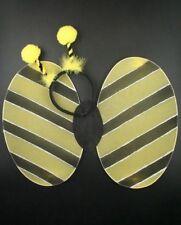 BUMBLE BEE WINGS BOPPERS COSTUME FANCY DRESS SET HALLOWEEN HEN NIGHT LADYBIRD UK