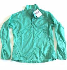 NWT PATAGONIA HOUDINI JACKET  WOMEN'S Medium (pullover) Aqua