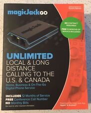 10x Magic Jack Go plus 12 Months FREE Service Included - Free Shipping!