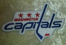 "Washington Capitals NHL Logo 3.5"" Iron On Embroidered Patch ~USA Seller~"