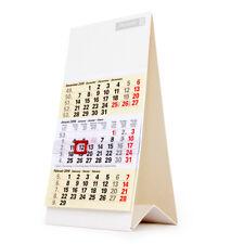 Kalender Tisch 3-Monate Dreimonats-Tischkalender 9,7x19cm 2019