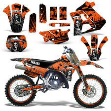 Yamaha Graphic Kit WR 250Z Dirt Bike Decal w/ Backgrounds WR250Z 91-93 REAP ORNG