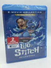Lilo & Stitch / Lilo & Stitch 2 (Blu-ray+Digital, 2017; 2-Movie Collection) NEW