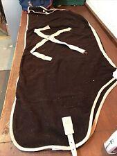 6ft3 Brown Saxon Fleece Cooler -9