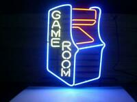"Gameroom Retro Neon Sign Display Store Bar Pub Light Sign Real Neon17 ""X14"""