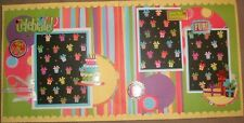 K & Company Birthday Pre- Designed Pages Scrapbook 30-156241