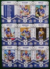2018 NRL XTREME CATERBURY BULLDOGS  FULL TEAM SET (9 cards)