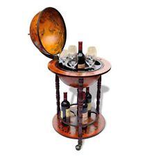 Bar Globe Wine Container Drink Cabinet Stand Liquor Bottle Holder Shelf Decor