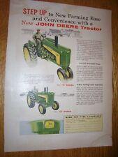 "1958 JOHN DEERE TRACTOR  830 DIESEL Man Cave Metal Sign 9x12/"" 60668"