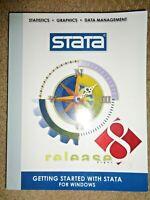 Vintage 2003 STATA Big Data Statistics Graphics User's Manual computer software