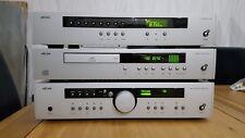 ARCAM Diva A85 HI-FI AMPLIFICATORE INTEGRATO separato & CD 92 & Tuner T51 in argento