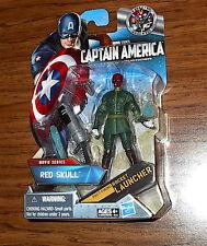 RED SKULL CHASE VARIANT! Captain America The First Avenger Movie Series! Hasbro