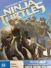 Teenage Mutant Ninja Turtles (Blu-ray Disc, 2014, 2-Disc Set, Steelbook)