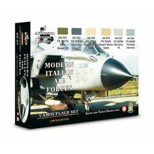 Set  Colori Acrilici Lifecolor per Aerei Italiani XS07