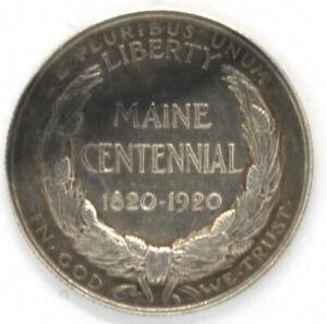 1920 Maine Centennial Half Dollar 50 Cent Bicentennial Commemorative Coin 90 %