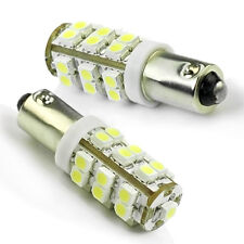 2Pcs BA9S T4W 1895 Weiß 25 LED 3528 SMD Auto Corner Rücklicht-Birnen-Lampe 12V