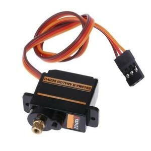 Mini Size Metal Gear Analog Servo ES08MA II for RC Motor Replacement Part